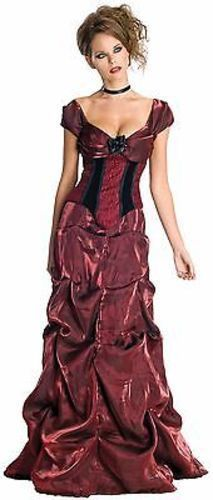 Primary image for Secret Wishes Rubies Rosa Oscuro Vestido Sexy Mujer Adulto Disfraz Halloween