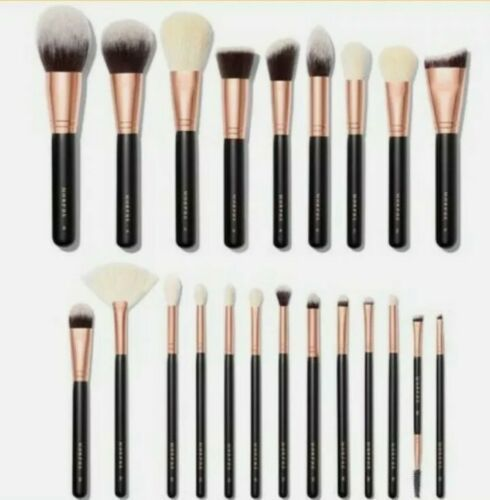 Morphe Stroke of Luxe 22 Piece Rose Gold Brush Collection Set