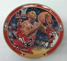 "Michael Jordan ""NBA 101"" BULLS Plate Bradford Exchange UpperDeck - $49.49"