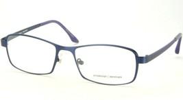 Prodesign Denmark 1235 3431 Matte Dark Blue Eyeglasses Frame 55-17-135mm (Notes) - $63.86