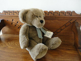 Ganz Heritage Pets TANNER Bear H4340 Handmade Retired New with Tags 14 inch - $57.83