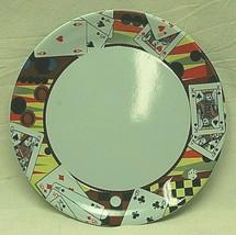 Gibson Melamine Dinnerware Bridge Playing Cards Luncheon Plate Tableware - $14.84