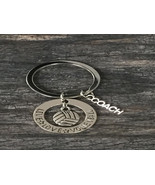 Volleyball Coach Keychain - Volleyball Coach Gift - Perfect Volleyball G... - $9.99