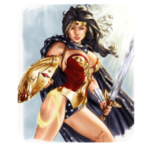 Mouse Pads Sexy Beautiful Wonder Woman Girl Heroes Justice League Mousepads - $6.00