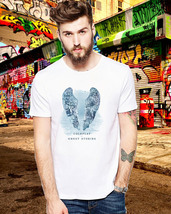 New Coldplay Ghost Stories Rock Band Album Cover Retro Design White T-sh... - $9.89+