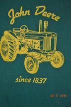John Deere Green T-Shirt Tractor Size XL - $11.59