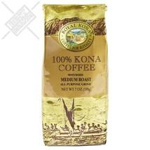 Royal Kona 100% Hawaiian Kona Coffee, Ground, Private Reserve Medium Roa... - $32.13