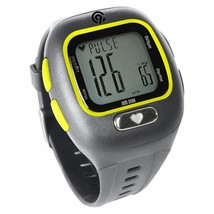 BRAND NEW C9 Champion Grey Yellow PACE Heart Rate Monitor Wrist Band Alarm Watch