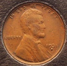 1931-D Lincoln Wheat Back Penny VF #0131 - $6.79