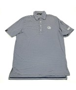 RLX Ralph Lauren Polo Dry Fit Shirt Size Large Striped World Golf Champi... - £16.70 GBP