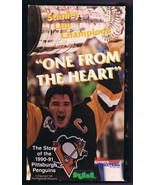 1991 Pittsburgh Penguins One From the Heart Stanley Cup VHS Cassette Lem... - $13.99