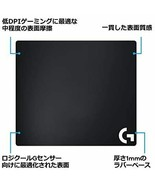 Logitech G Gaming Mouse Pad G240t Cross Surface Standard Size Domestic - $53.40