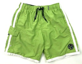 MAUI And SONS Boardshorts Size Small S Pistachio Green Cargo Pocket Logo... - $17.83