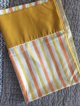 70s striped pillow case - $9.50