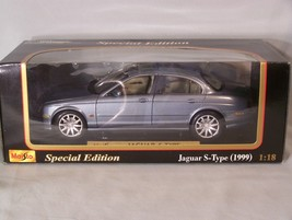 1999 Jaguar S-Type 1:18 scale diecast Special Edition Maisto - $42.35