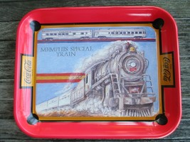 Coca-Cola Commemorative Tray Memphis Special Train - $108.90
