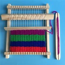 DIY Wood Handmade Sweater Knitting Machine sewing Machine Educational To... - $17.50