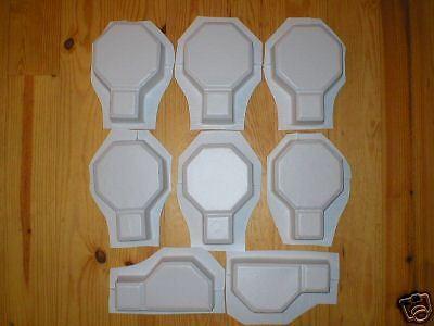 Keyhole Interlocking Driveway Paver Molds 18+2 Edgers FREE! Make 1000s of Pavers