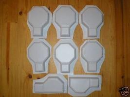 Keyhole Interlocking Driveway Paver Molds 18+2 Edgers FREE! Make 1000s of Pavers image 2