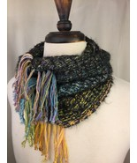 Handwoven Cowl from Rainbow Spring Warp - $86.00