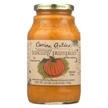Cucina Antica Tuscany Pumpkin Pasta Sauce - Case of 12 - 25 oz. - $104.28