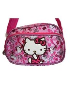Hello Kitty Small Shoulder Bag Water Resistant Two Compartments Girl, HK... - $10.86