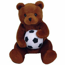 Ty Beanie Baby Sweeper the Soccer Bear NEW - $14.84
