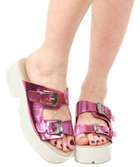 C Label Darla-9 Sandalia de Plataforma, Rosa, Ee. Uu. 8 - $24.73