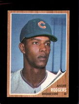 1962 Topps #477 Andre Rodgers Vgex Cubs Nicely Centered *XR22134 - $8.00