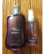 Set of 2 Twilight Woods 10 oz shower gel 3 oz fragrance mist Bath and Bo... - $39.76