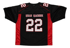 Scarborough #22 Mean Machine Longest Yard Movie Football Jersey Black Any Size image 4