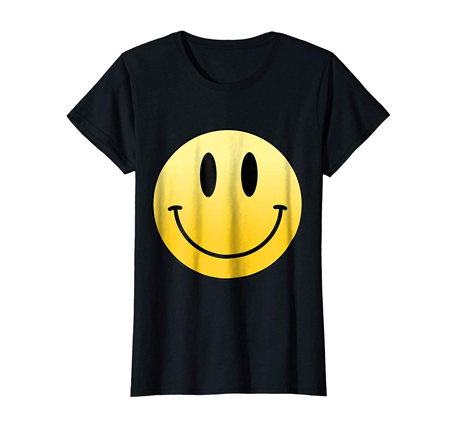 New Shirt - Mr Happy Smiley Face Positive Cute T Shirt Wowen