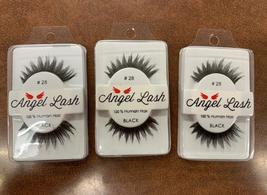 Angel Lash #28-3 pairs 100% Human Hair - $9.50