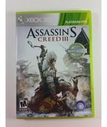 Assassin's Creed III (Microsoft Xbox 360, 2012) - $3.99