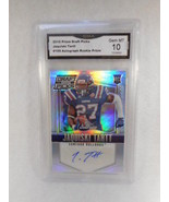2015 Prism Draft Picks #199 Jaquiski Tartt Auto Rookie GMA Graded Gem 10 - $12.82