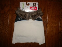 Pet Shoppe Size M/L Doggy Holiday Sweater Dog Clothes NWT - $12.65