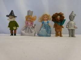 McDonalds Wizard of Oz Figures. Lot of 5 Madame Alexander Dolls Dressed - $14.86