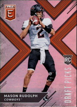 2018 Panini Elite Draft Picks #111 Mason Rudolph NM-MT (RC - Rookie Card)  - $8.00