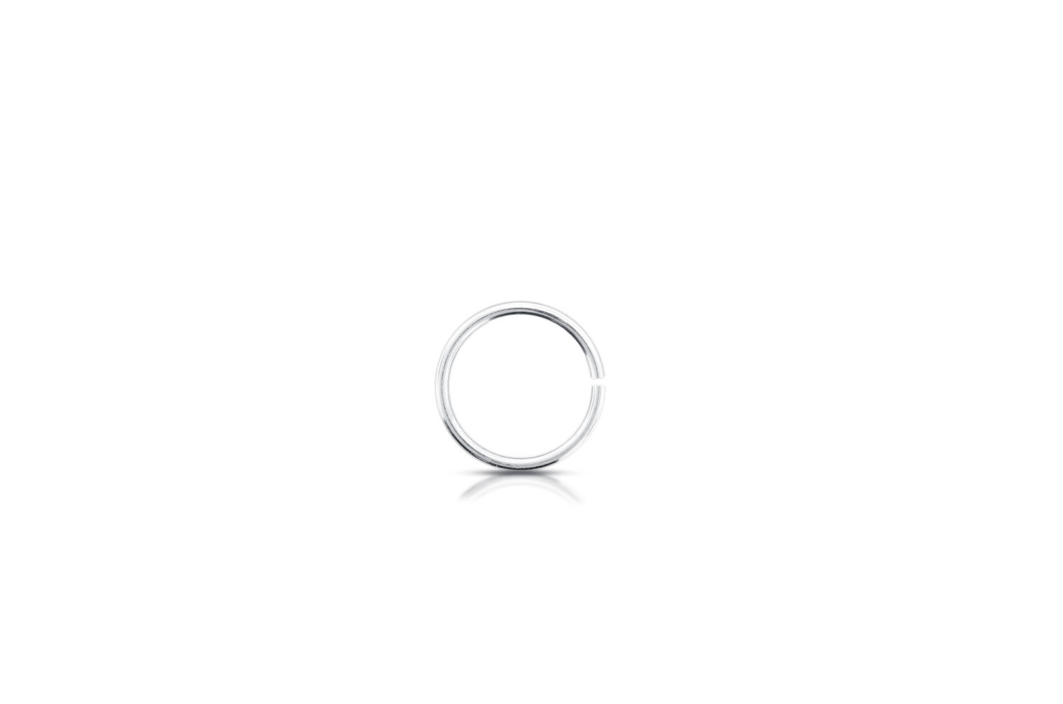 Primary image for Jump Rings, Open Jump Rings, Sterling Silver, 22ga 5mm, Pkg Of 50pcs (2058)/1