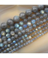 """Wholesale Smooth Natural Gemstone Round Loose Beads 15"""" 4mm 6mm 8mm 10mm... - $16.78"""