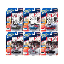 Muscle Cars USA 2017 Release 4B Set of 6 cars 1/64 Diecast Model Cars by... - $61.37