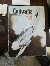 LUFTWAFFE -GAME OF AERIAL COMBAT OVER GERMANY 1943-45 -COMPLETE 1971 AVA... - $15.84