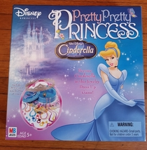 Pretty Pretty Princess Cinderella Milton Bradley Complete Excellent Used Game - $35.00