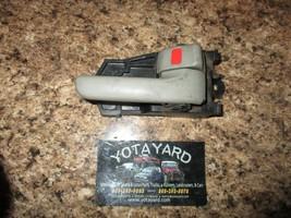 1997-2001 Toyota Camry RIGHT Passenger Interior Door Handle Gray YOTA YARD - $9.90
