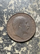 1909 Great Britain 1 Farthing Lot#Z3777 Nice! - $9.50
