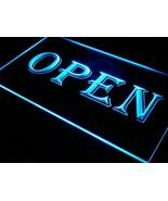 OPEN LED Neon Light Sign Shop Cafe Bar Pub Business Business Ultra Anima... - $38.73+