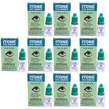 10 x I TONE Ayurvedic Herbal Eye Drops Natural Allergies FREE SHIPPING - $19.80