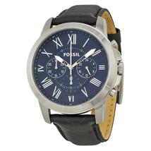Fossil Grant Chronograph Blue Dial Men's Watch FS4990 - $272.00