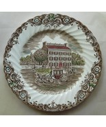 Johnson Bros Heritage Hall Georgian Town House Hand Engraved Dinner Plat... - $19.00