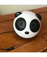 Used Go Groove Panda Pal Portable Speaker USB Power or 3 Triple A Batter... - $9.49